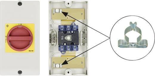 Reparatieschakelaar Uitschakelbaar 1 x 90 ° Rood, Geel Kraus & Naimer KG32 T203/D-A117 KL51V 1 stuks