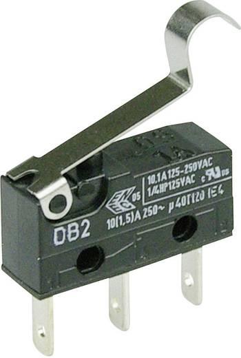Cherry Switches DB2C-B1SC Microschakelaar 250 V/AC 10 A 1x aan/(aan) schakelend 1 stuks