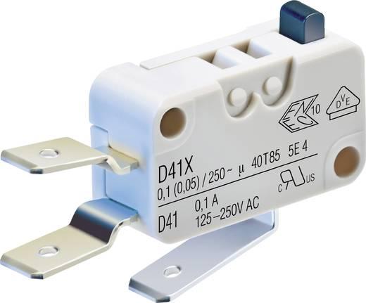 Cherry Switches D419-V3AA Microschakelaar 250 V/AC 0.1 A 1x aan/(aan) schakelend 1 stuks