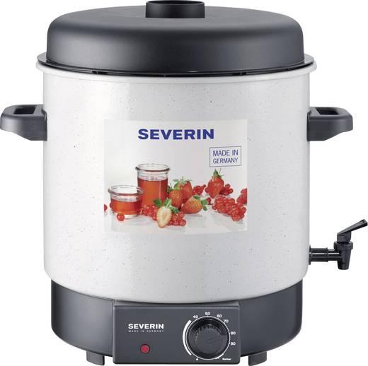 Inmaak-/warme dranken automaat met tapkraan Severin EA 3653 Wit, Zwart