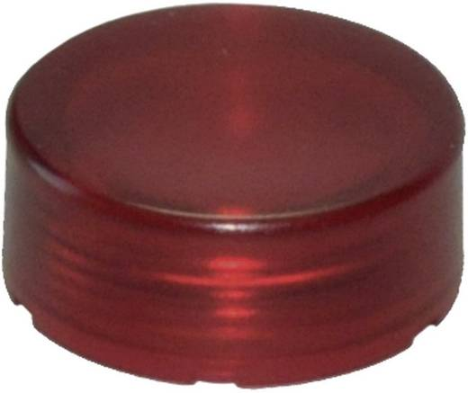 Idec YW9Z-L12R Bolkap Verlicht (Ø x h) 23.6 mm x 9.3 mm Rood 1 stuks
