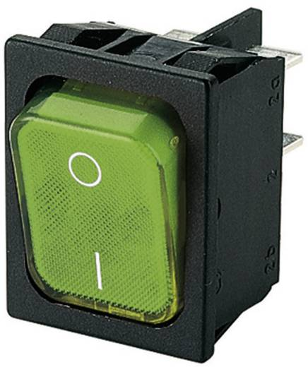 Marquardt 1835.3105 Wipschakelaar 250 V/AC 6 A 2x uit/aan IP40 vergrendelend 1 stuks