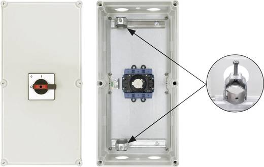 Reparatieschakelaar Uitschakelbaar 1 x 90 ° Zwart Kraus & Naimer KG160 T103/D-A066 STM 1 stuks