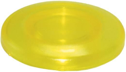 Idec YW9Z-L14Y Toetskap Verlicht (Ø x h) 40 mm x 10.8 mm Geel 1 stuks