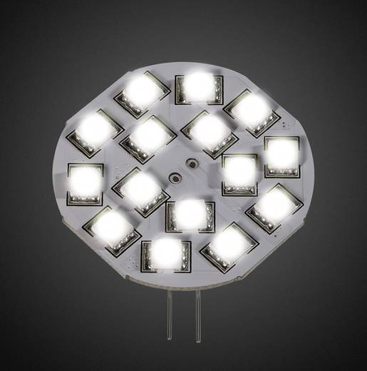LED-lamp G4 Stift 2.6 W = 26 W Warmwit Dimbaar DioDor 1 stuks