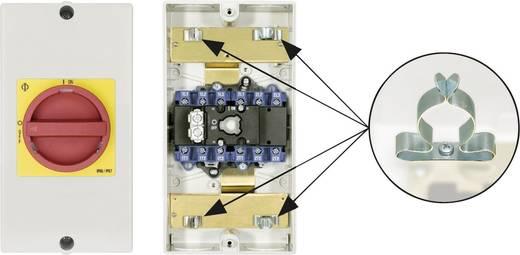 Reparatieschakelaar Uitschakelbaar 1 x 90 ° Rood, Geel Kraus & Naimer KG20B T206/D-A059 KL11V 1 stuks
