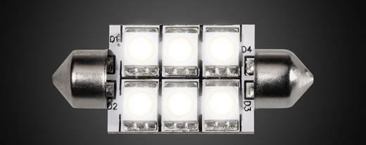 LED-lamp Soffitte 37mm 1.3 W = 20 W Warmwit Dimbaar DioDor 1 stuks