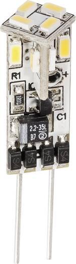 LED-lamp G4 0.6 W = 10 W Warmwit Energielabel: A+ DioDor Dimbaar 1 stuks