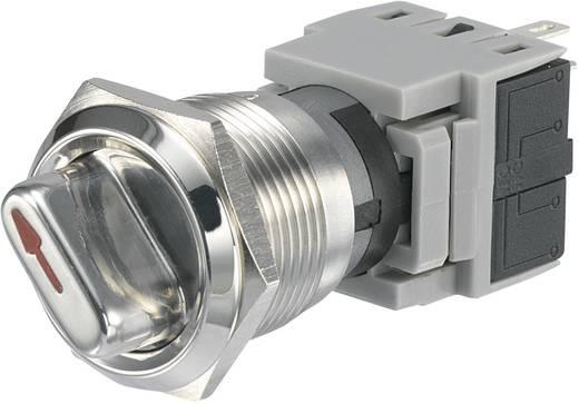 TRU Components LAS1-BGQ-11X/23 Vandalismebestendige draaischakelaar 250 V/AC 5 A Schakelposities 2 1 x 90 ° IP40 1 stuks