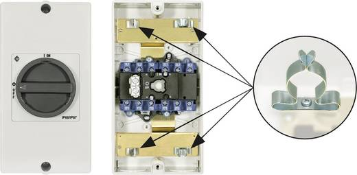 Reparatieschakelaar Uitschakelbaar 1 x 90 ° Zwart Kraus & Naimer KG20B T106/D-A046 KL11V 1 stuks