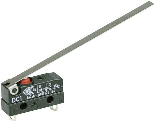 Cherry Switches DC1B-A1LD Microschakelaar 250 V/AC 6 A 1x aan/(uit) IP67 schakelend 1 stuks