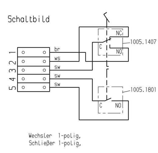 Marquardt 2410.0501 Voetschakelaar 250 V/AC 6 A 1 pedaal 1x NO, 1x NC 1 stuks