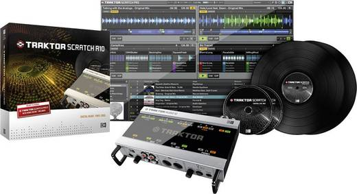 Native Instruments Traktor Scratch A10 DJ-software