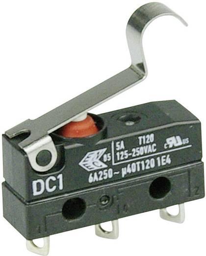 Cherry Switches DC1C-A1SB Microschakelaar 250 V/AC 6 A 1x aan/(aan) IP67 schakelend 1 stuks