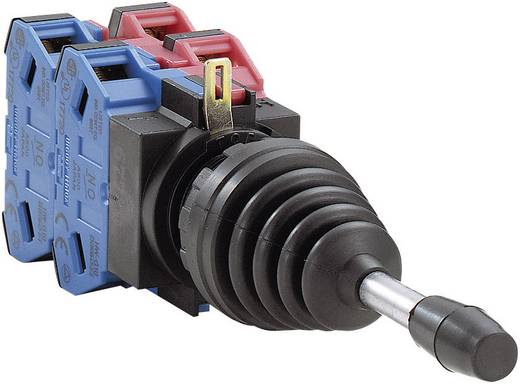 Idec HW1M2222-F22N9 Coördinatenschakelaar 240 V/AC Metalen hefboom, recht Steekklem 1 stuks