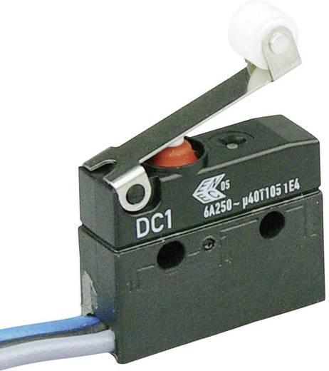 Cherry Switches DC1C-C3RB Microschakelaar 250 V/AC 6 A 1x aan/(aan) IP67 schakelend 1 stuks