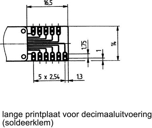 Hartmann PICO-DE-131AK2 Codeerschakelaar BCD 0-9 Schakelposities 10 1 stuks