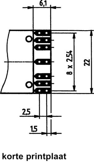 Hartmann SMC-D-131-AK-2 Codeerschakelaar BCD 0-9 Schakelposities 10 1 stuks