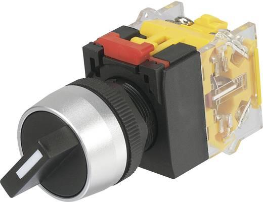 TRU COMPONENTS LAS0-A3Y-11X/21 Draaischakelaar 250 V/AC 5 A Schakelposities 2 1 x 90 ° IP40 1 stuks