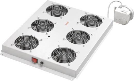 19 inch 6 x Patchkast-ventilator 1 HE