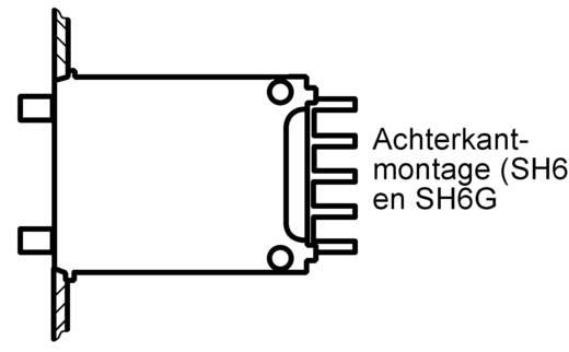Hartmann SH6-131-AKK-2 Codeerschakelaar BCD 0-9 Schakelposities 10 1 stuks