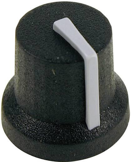Cliff CL170844BR Draaiknop Zwart-grijs (Ø x h) 16.8 mm x 14.5 mm 1 stuks