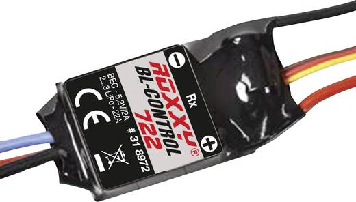 Brushless snelheidsregelaar voor RC vliegtuig ROXXY BL Control 722 BEC