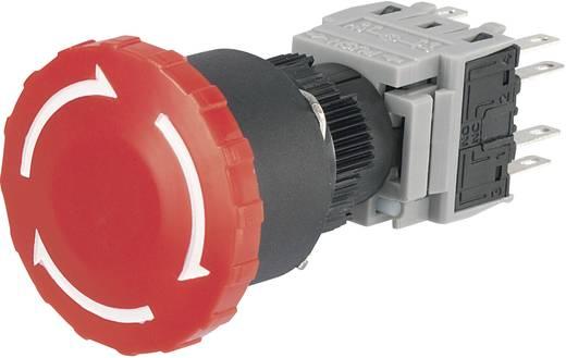 Noodstopschakelaar 250 V/AC 3 A 2x NC, 2x NO TRU COMPONENTS LAS1-BY-22TSA IP40 1 stuks