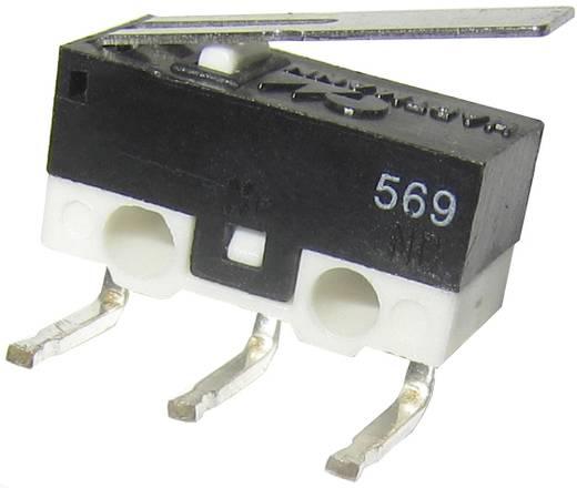 Hartmann MICROHART Microschakelaar 125 V/AC 3 A 1x aan/(aan) schakelend 1 stuks