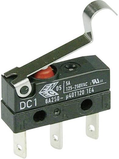 Cherry Switches DC1C-L1SC Microschakelaar 250 V/AC 6 A 1x aan/(aan) IP67 schakelend 1 stuks