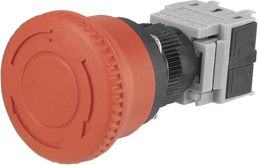 Noodstop schakelaar 250 V/AC 3 A 1x NC, 1x NO TRU Components LAS1-BY-11TSB IP40 1 stuks