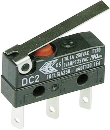 Cherry Switches DC2C-L1LC Microschakelaar 250 V/AC 10 A 1x aan/(aan) IP67 schakelend 1 stuks