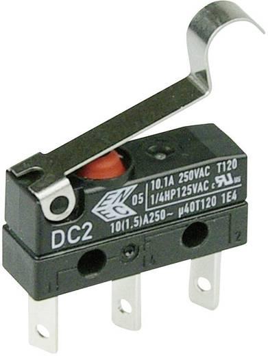 Cherry Switches DC2C-L1SC Microschakelaar 250 V/AC 10 A 1x aan/(aan) IP67 schakelend 1 stuks