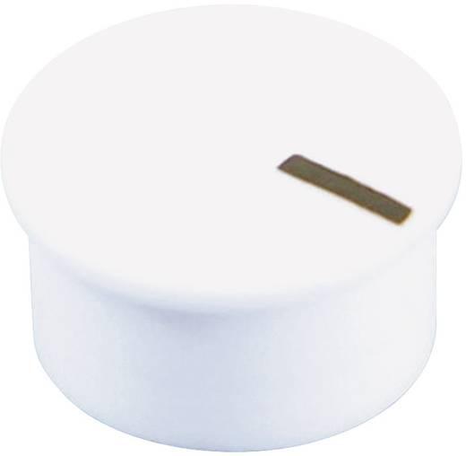 Cliff CL177903A Afdekkap Met wijzer Wit Geschikt voor Draaischakelaars K85 1 stuks