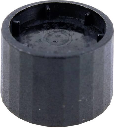 Cliff CL172877B Draaiknop Zwart (Ø x h) 25.3 mm x 19.2 mm 1 stuks