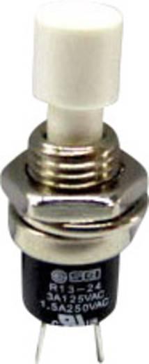 SCI R13-24A1-05-WT Druktoets 250 V/AC 1.5 A 1x uit/(aan) schakelend 1 stuks