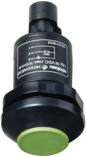 Elobau 145000AB-GN Druktoets 48 V DC/AC 0.5 A 1x uit/(aan) IP67 schakelend 1 stuks