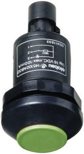 Elobau 145010AB-GN Druktoets 48 V DC/AC 0.5 A 1x aan/(uit) IP67 schakelend 1 stuks