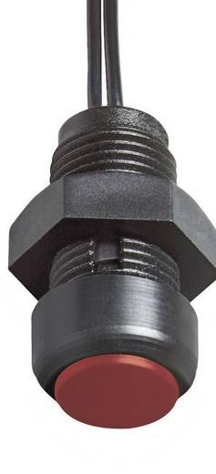 Elobau 145MT01A-RD Druktoets 48 V DC/AC 0.2 A 1x aan/(uit) IP67 schakelend 1 stuks