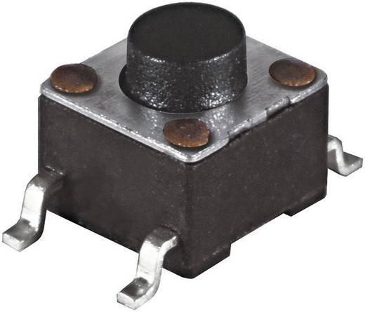Namae Electronics JTP-1138F Druktoets 12 V/DC 0.05 A 1x uit/(aan) schakelend 1 stuks
