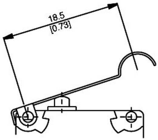Saia V4NST7YCUL Microschakelaar 250 V/AC 5 A 1x aan/(aan) IP67 schakelend 1 stuks