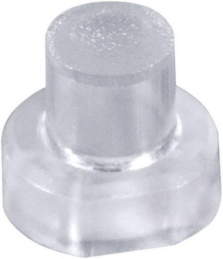 MEC 1S11-22.5 Druktoets kap Transparant 1 stuks