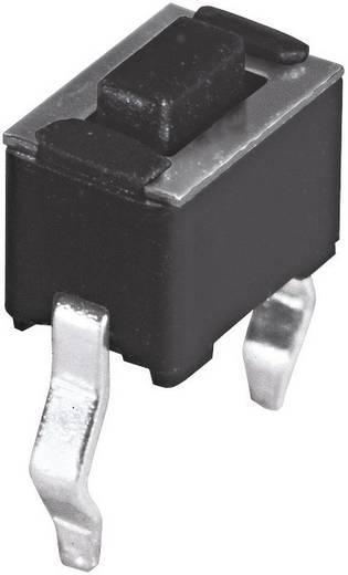 Namae Electronics JTP-1243 Druktoets 12 V/DC 0.05 A 1x uit/(aan) schakelend 1 stuks