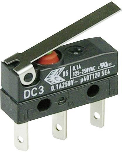 Cherry Switches DC3C-L1LC Microschakelaar 250 V/AC 0.1 A 1x aan/(aan) IP67 schakelend 1 stuks