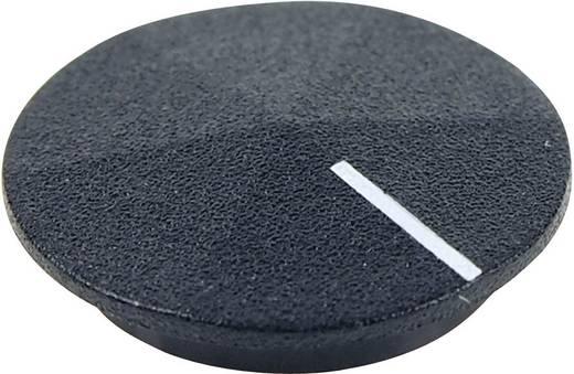 Cliff CL177801 Afdekkap Met wijzer Zwart, Wit Geschikt voor Draaischakelaars K12 1 stuks