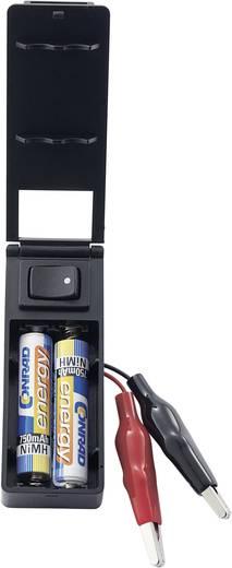TI-220 Batterijbox 2 AAA (potlood) (l x b x h) 77 x 29.5 x 18 mm