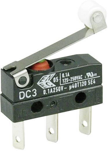 Cherry Switches DC3C-L1RC Microschakelaar 250 V/AC 0.1 A 1x aan/(aan) IP67 schakelend 1 stuks