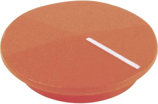Cliff CL177807 Afdekkap Met wijzer Oranje, Wit Geschikt voor Draaischakelaars K12 1 stuks