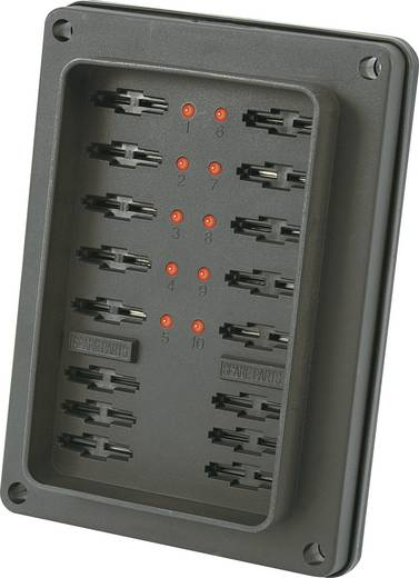 SCI R3-82-01-1L310 Zekeringhouder Met statusaanduiding Geschikt voor Platte zekering standaard 25 A 32 V/DC 1 stuks