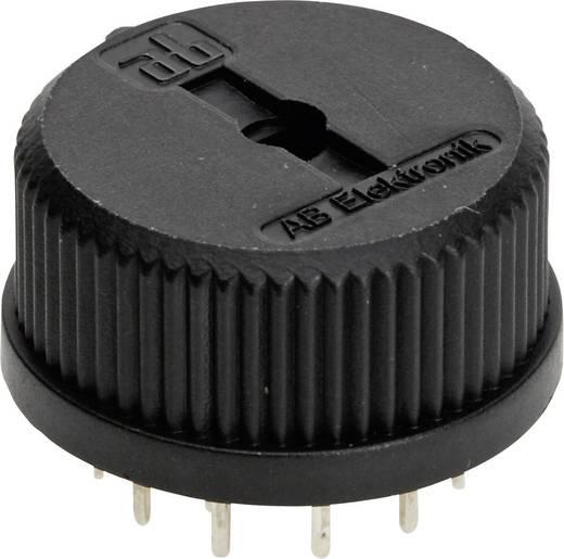 TT Electronics AB 417 Draaischakelaar 150 V/AC 0.13 A Schakelposities 6 1 x 30 ° 1 stuks